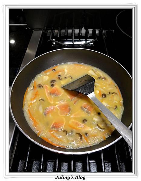 鮭魚味噌湯做法9.JPG