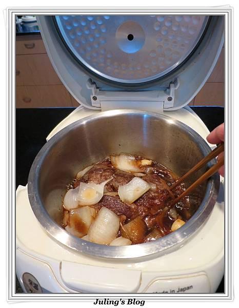 用電飯鍋做韓式烤肉醬燒牛肉做法5.jpg