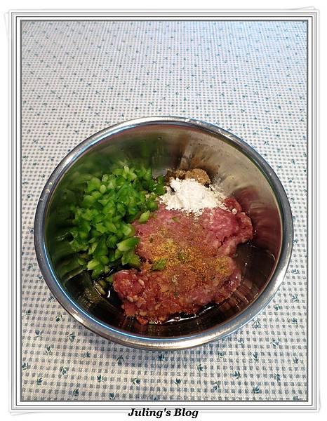 青椒肉餅做法2.jpg