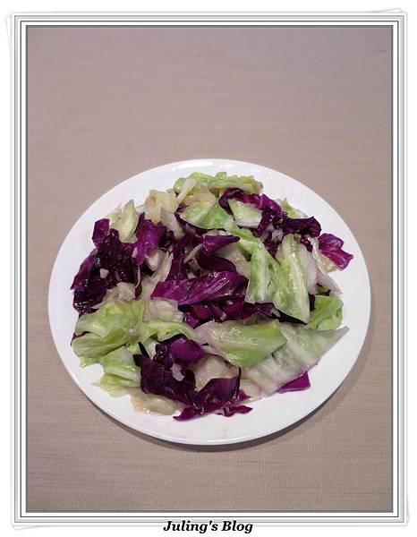 炒雙色高麗菜1.JPG