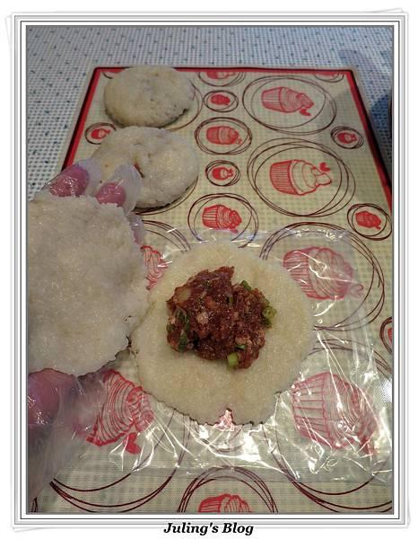 糯米鮮肉餅做法7.JPG