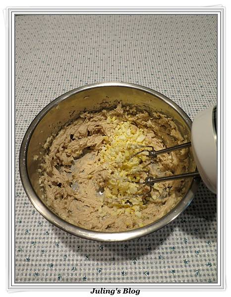 白煮蛋巧克力餅乾做法4.JPG