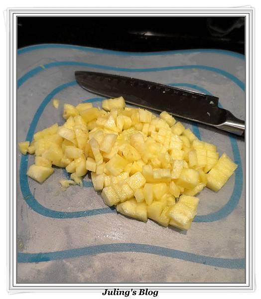用電飯鍋做鳳梨苦瓜做法2.JPG