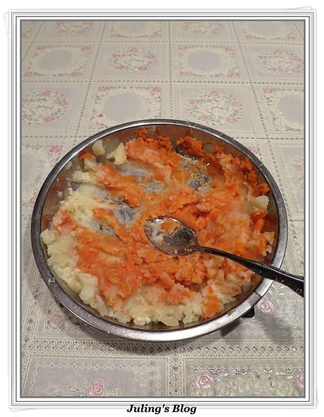 炒素蟹黃做法3.JPG