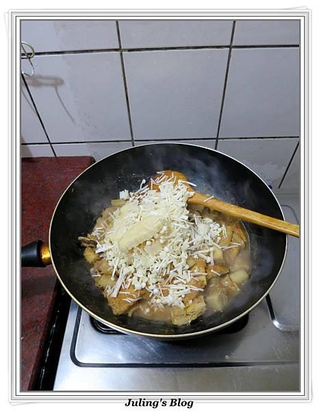 芋香雙菇豆包做法8.JPG