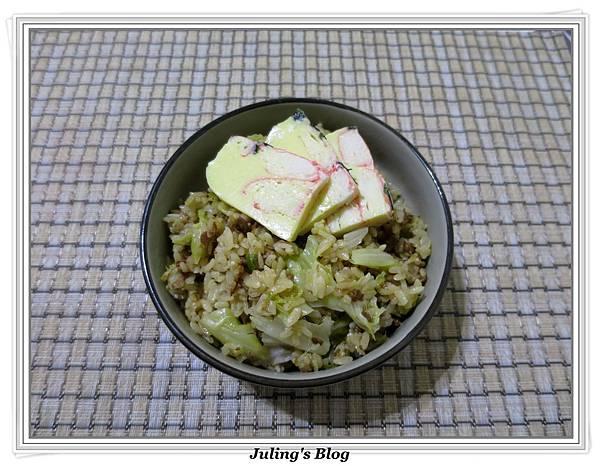 簡易素高麗菜飯1.JPG