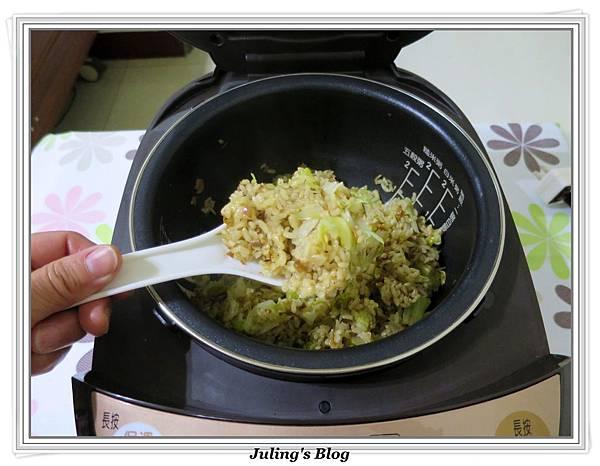 簡易素高麗菜飯做法9.JPG