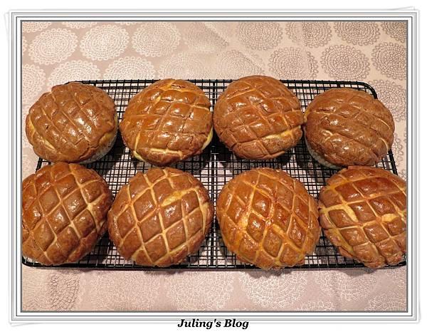 巧克力菠蘿麵包2.JPG