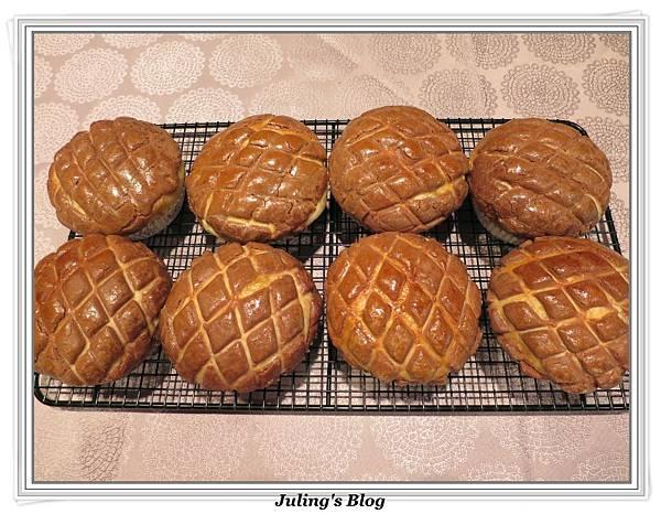 巧克力菠蘿麵包3.JPG