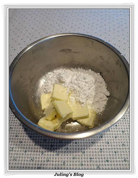 巧克力菠蘿麵包做法6.JPG