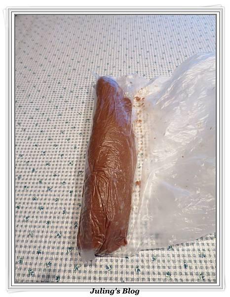 巧克力菠蘿麵包做法13.JPG