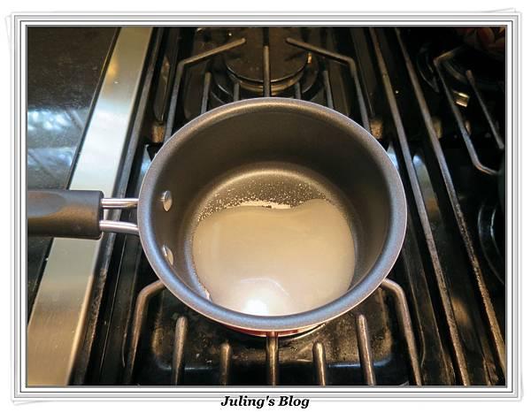 奶油乳酪布丁做法1