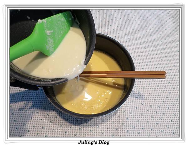 奶油乳酪布丁做法12