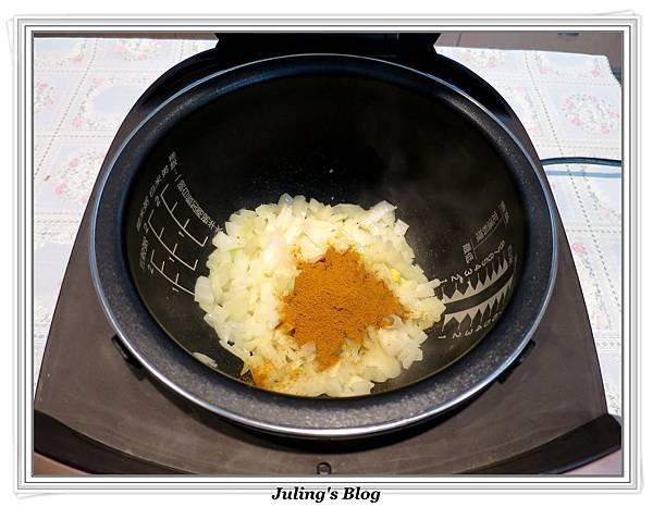 奶香咖哩飯做法6
