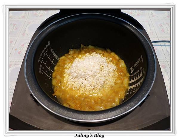 奶香咖哩飯做法8