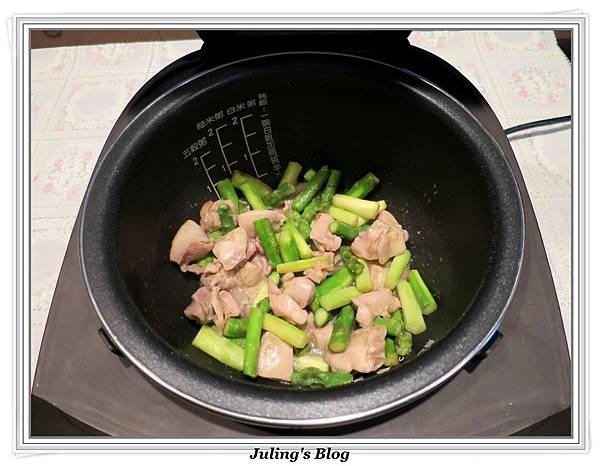 雞肉炒蘆筍做法5