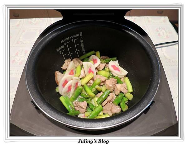 雞肉炒蘆筍做法8