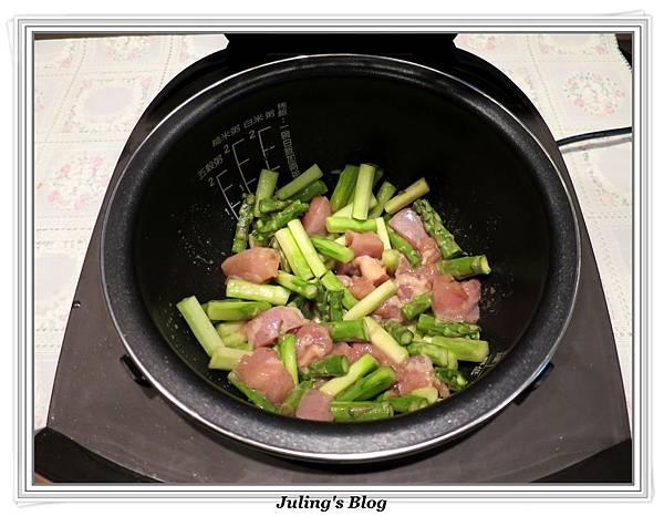 雞肉炒蘆筍做法10
