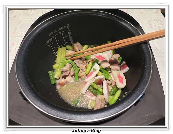 雞肉炒蘆筍做法16