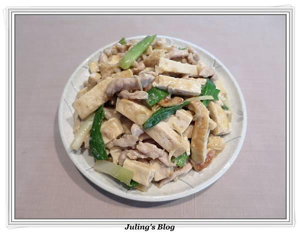 薑絲炒豆乾肉絲2.JPG