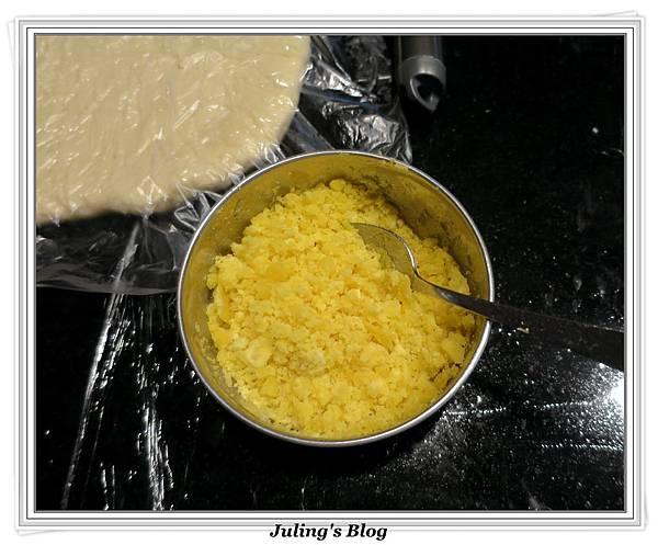 豆沙肉鬆麵包做法9.JPG