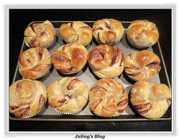 榛果巧克力麵包做法16.JPG