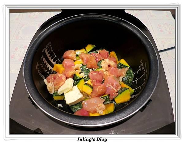 三鮮南瓜煲做法4.JPG