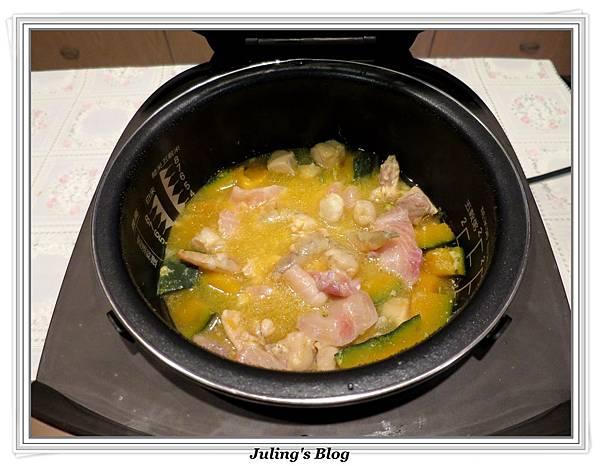 三鮮南瓜煲做法9.JPG