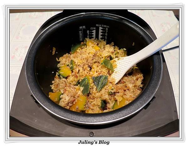 南瓜燉飯做法15.JPG