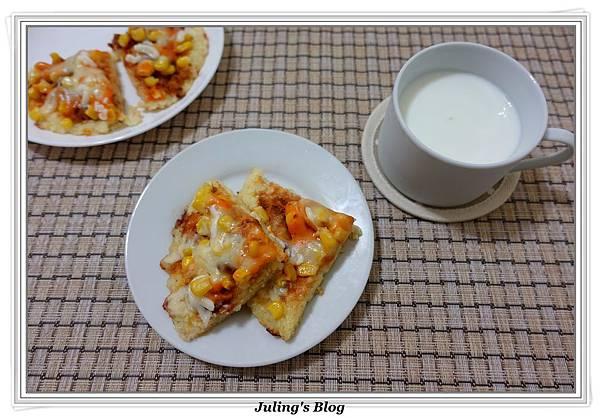 剩飯做米披薩2.JPG