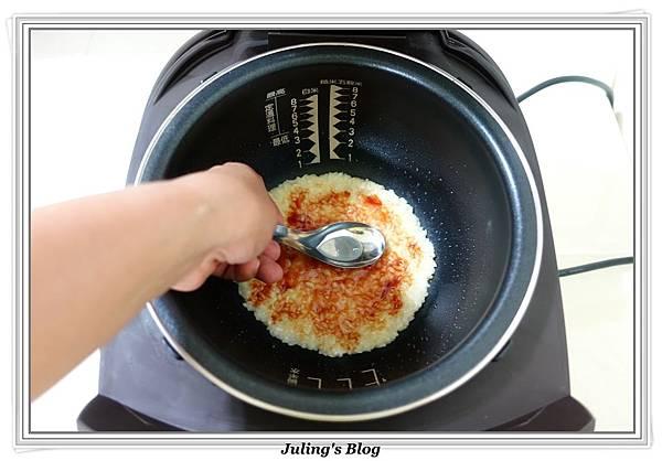 剩飯做米披薩做法6.JPG