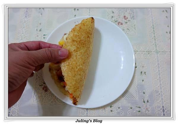 剩飯做米披薩做法13.JPG