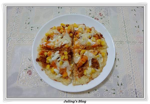 剩飯做米披薩做法14.JPG