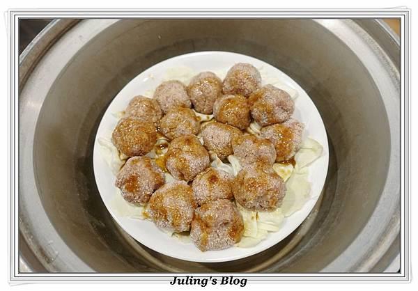 粉蒸肉丸子做法8.JPG