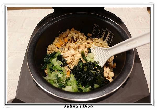 鮭魚菜飯做法18.JPG