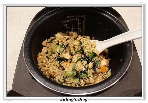 鮭魚菜飯做法19.JPG