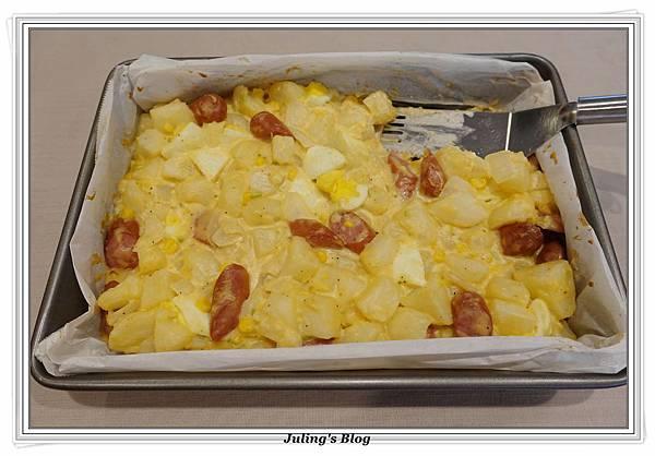 烤熱狗馬鈴薯做法17.JPG