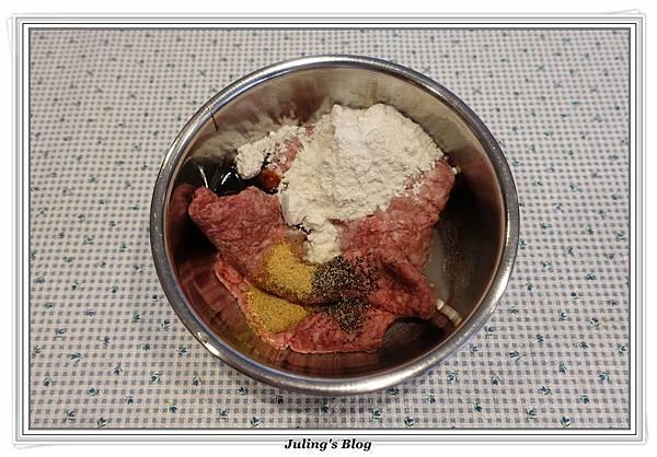 烤起司肉丸子做法1.JPG