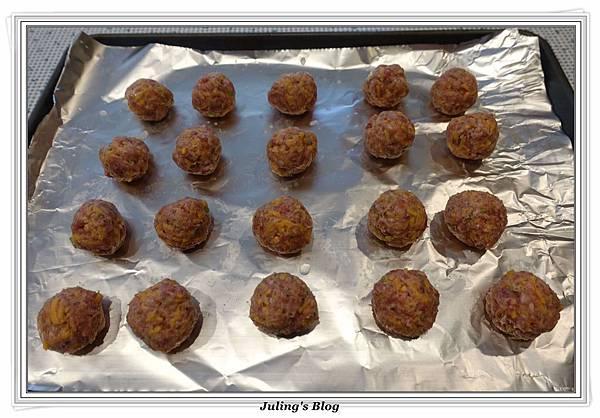 烤起司肉丸子做法3.JPG