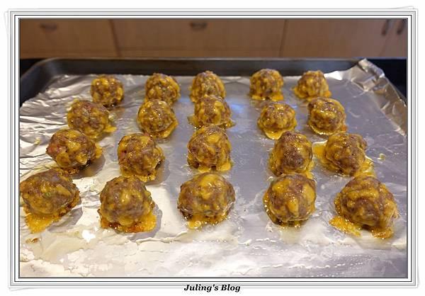 烤起司肉丸子做法4.JPG