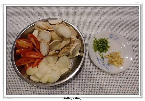 蕃茄炒杏鮑菇做法1.JPG