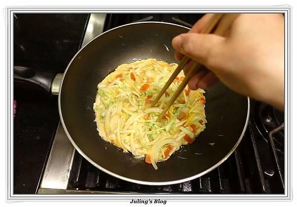 鮮蔬杏鮑菇煎蛋做法6.JPG