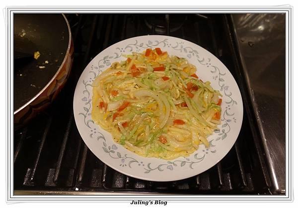 鮮蔬杏鮑菇煎蛋做法7.JPG