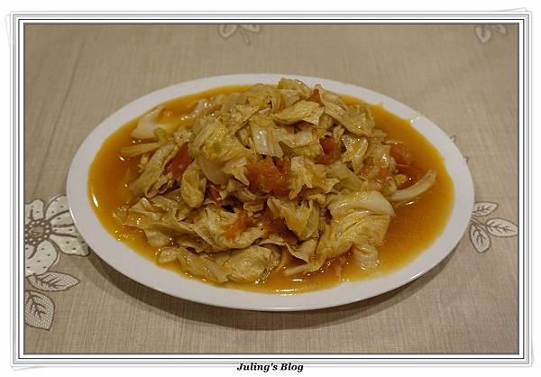 蕃茄豆包炒高麗菜1.JPG