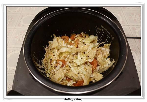 蕃茄豆包炒高麗菜做法3.JPG