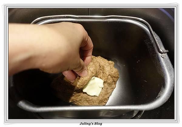 oreo乳酪夾心香蕉巧克力麵包做法4.JPG