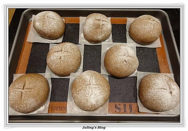 oreo乳酪夾心香蕉巧克力麵包做法16.JPG