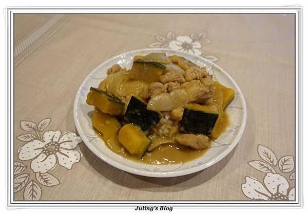奶香南瓜咖哩飯2.JPG