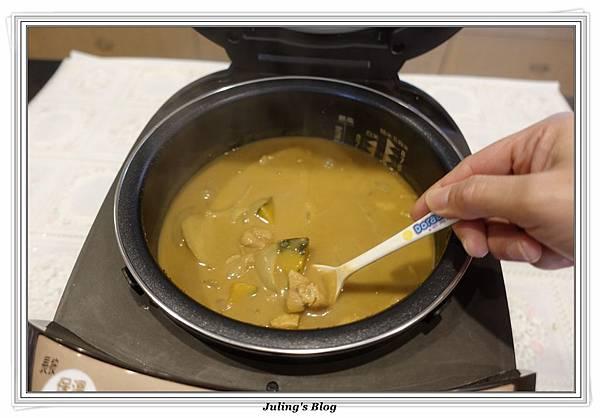 奶香南瓜咖哩飯做法12.JPG
