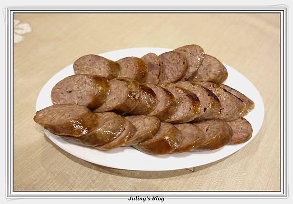 韓式烤肉醬紅糟香腸1.JPG